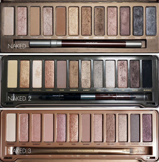 the beauty look book urban decay naked3 palette. Black Bedroom Furniture Sets. Home Design Ideas