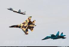 Sukhoi su-35.BM + Su-50+Su-34
