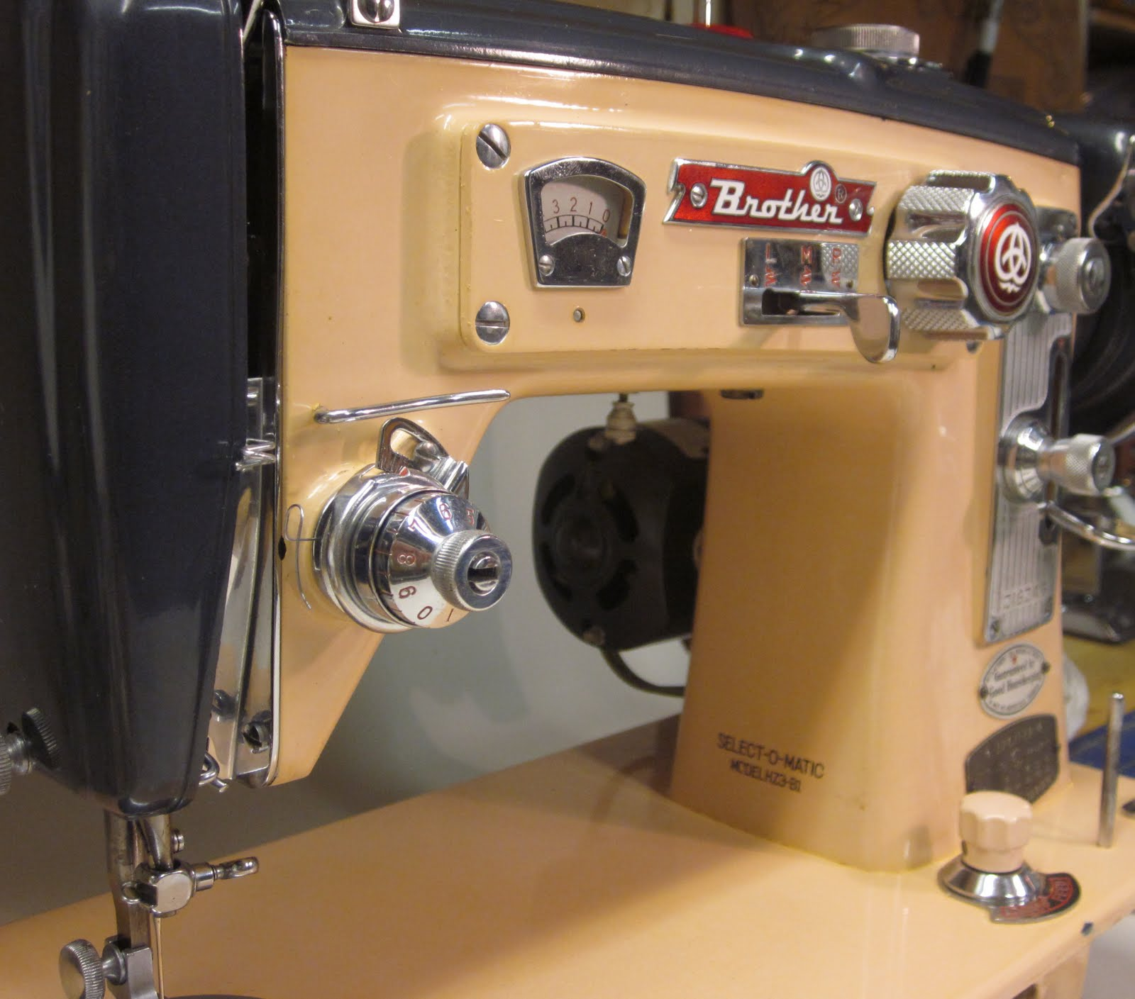 select o matic sewing machine