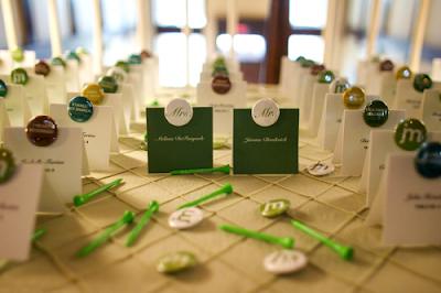 Undangan Pernikahan Tema Golf