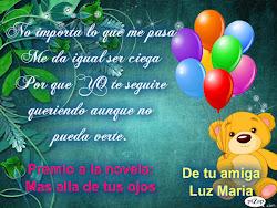 Premio de Luz Maria