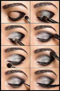 Gözlere Dumanlı Makyaj Yapımı