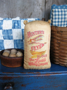 miniature flour sack