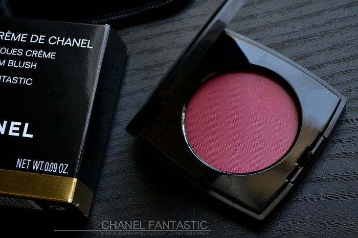Chanel Creme Blush Fantastic 66 Fall 2013 Superstition Makeup Collection Photos Swatches Review Indian Darker Skin Beauty Blog FOTD Looks