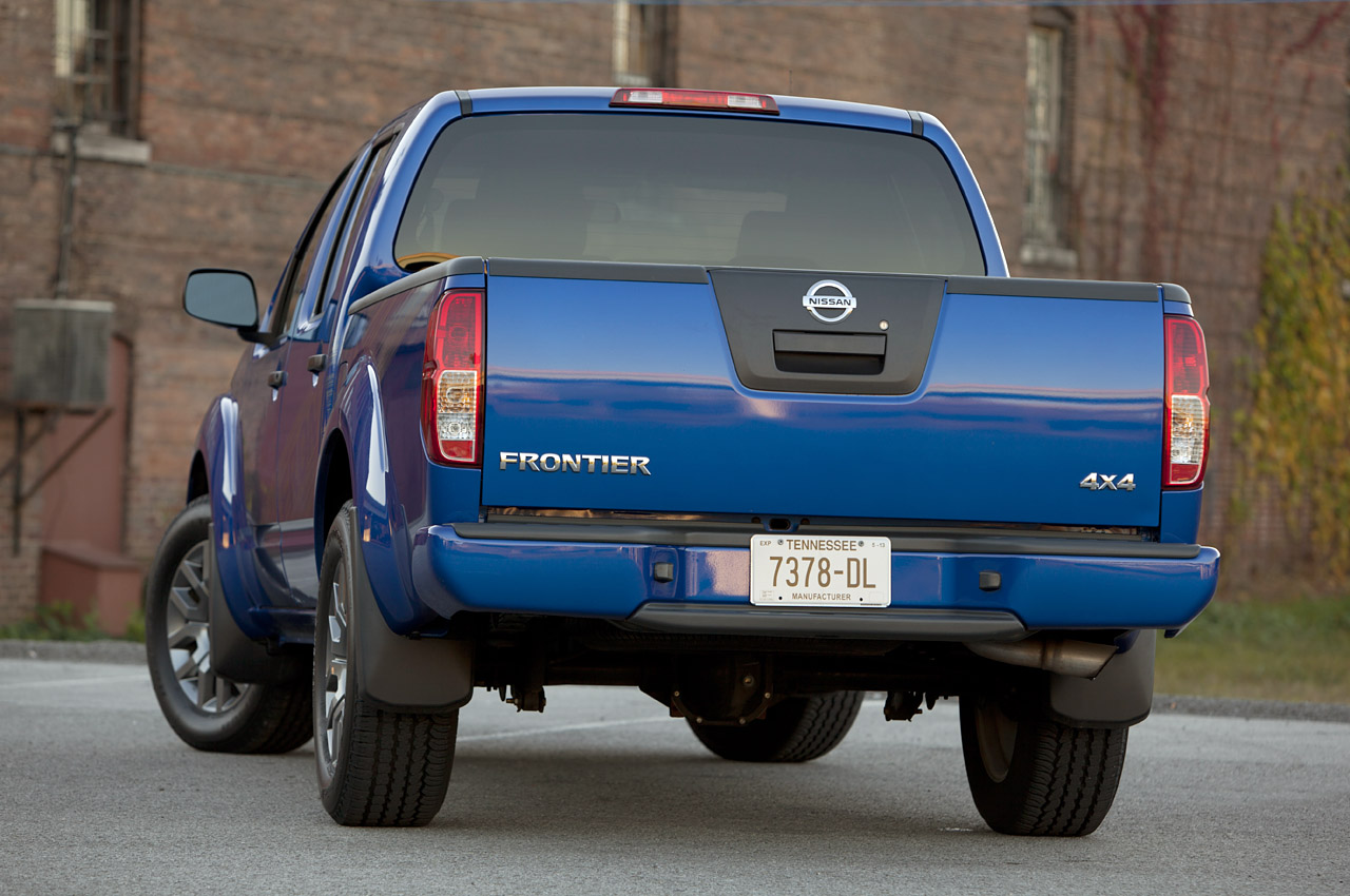 Nissan Frontier King Cab 4X4 hd image