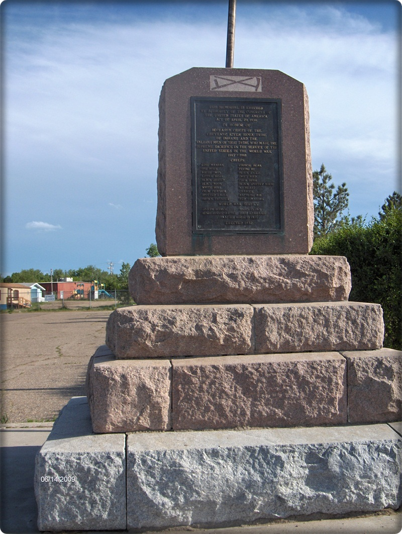 Mobridge (SD) United States  City pictures : ... that tribe who died in service of the United States in the World War I