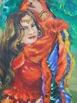 Cigana das Sete castanholas
