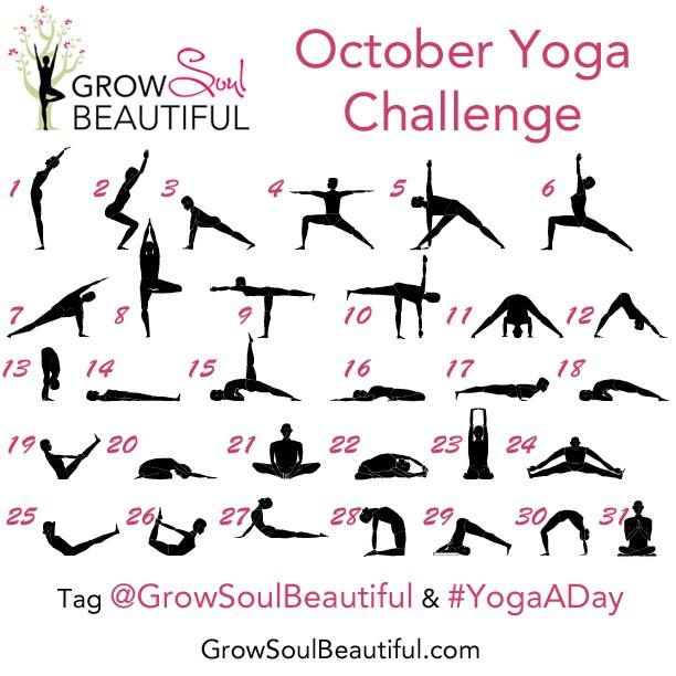 Instagram October Yoga Challenge