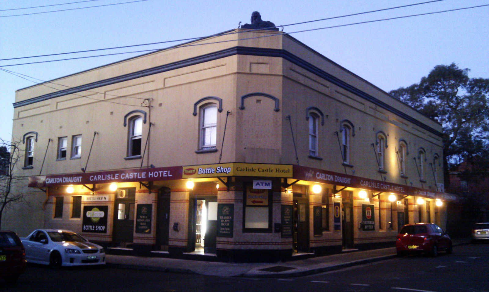 Sydney Pub List Carlisle Castle Hotel Newtown