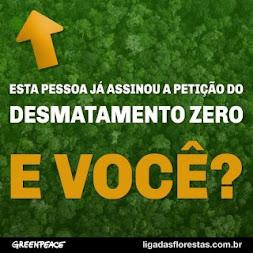 Desmatamento zero