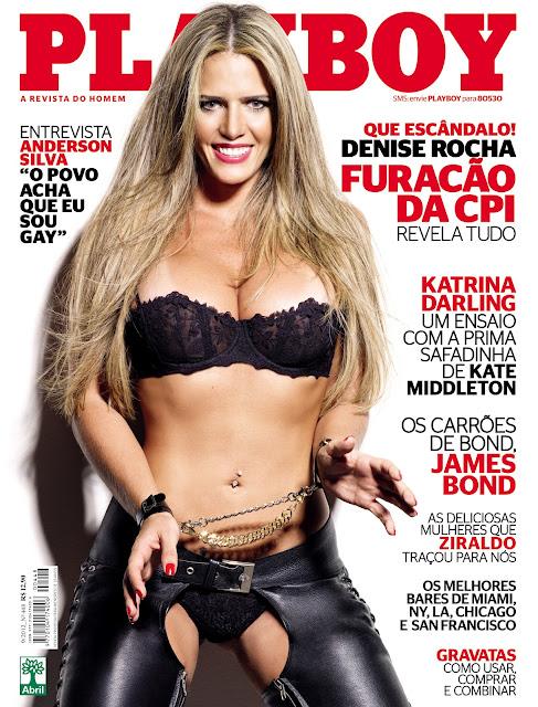 Playboy Brasil - Denise Rocha (O Furacão da CPI) - 9/2012