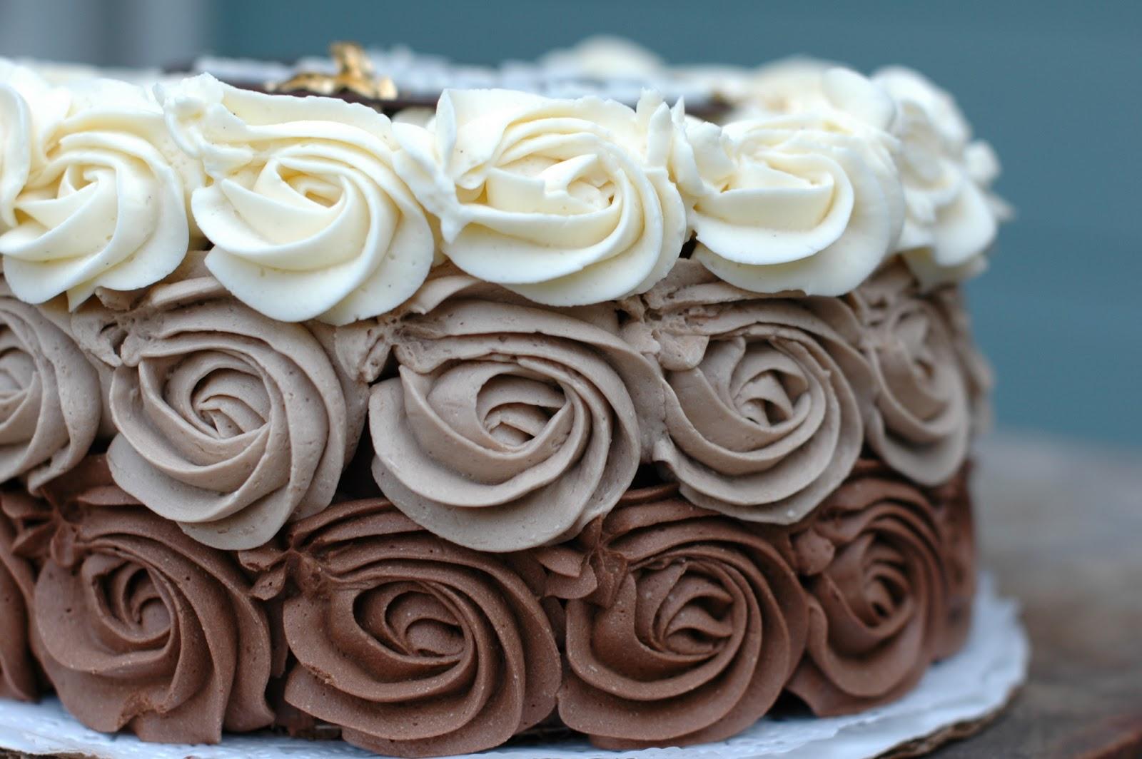 recipe: ombre rosette cake recipe [9]