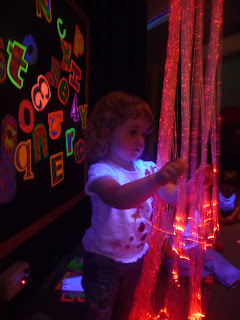 Toddlers at the Space Centre