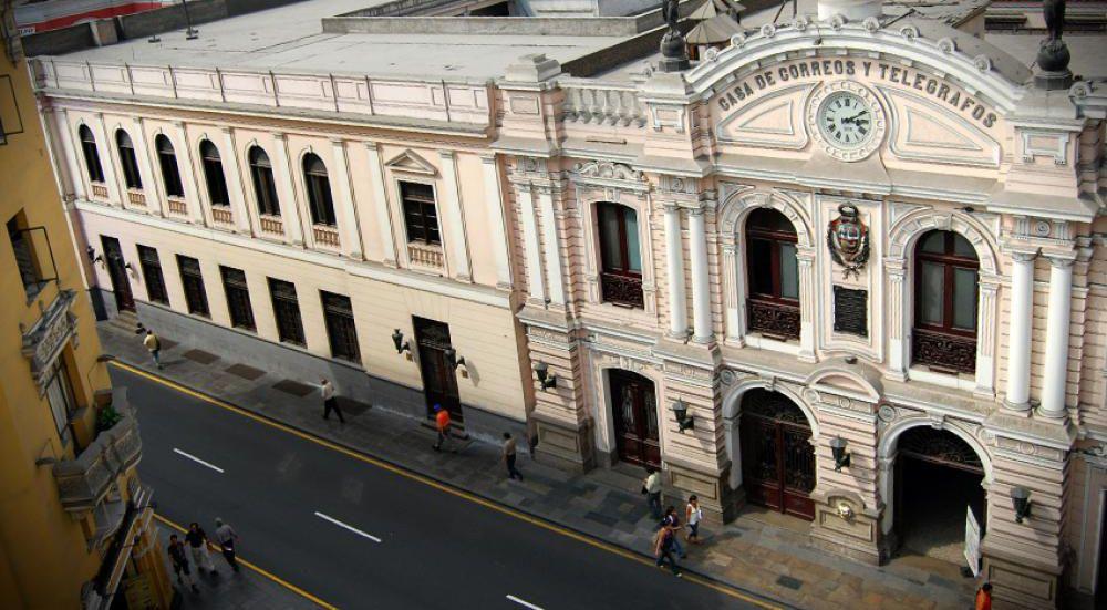 Arquitectura Republicana De Lima 3742 Casa De Correos Y
