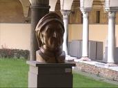 ダンテの顔の像