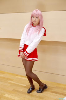 Zeroinch Cosplay as Miyuki Takara from Lucky Star