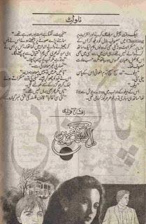 Dil esa nagr nhi novel by Afshan Afridi Online Reading.