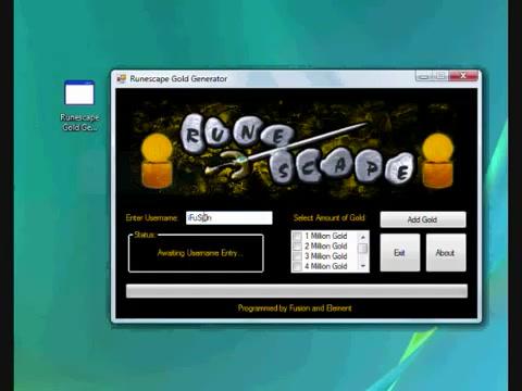 RuneScape Money Generator - free download