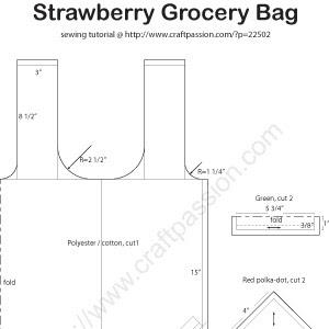 Выкройки хозяйственной сумки из ткани своими руками