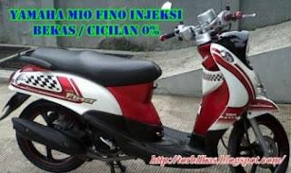 Harga Motor Yamaha Mio Fino Injeksi Bekas Semua Tahun