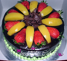 CAKE CHOCOLATE MOIST WITH FRUIT