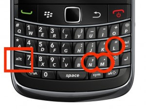 How Digital Signal Display Settings on BlackBerry