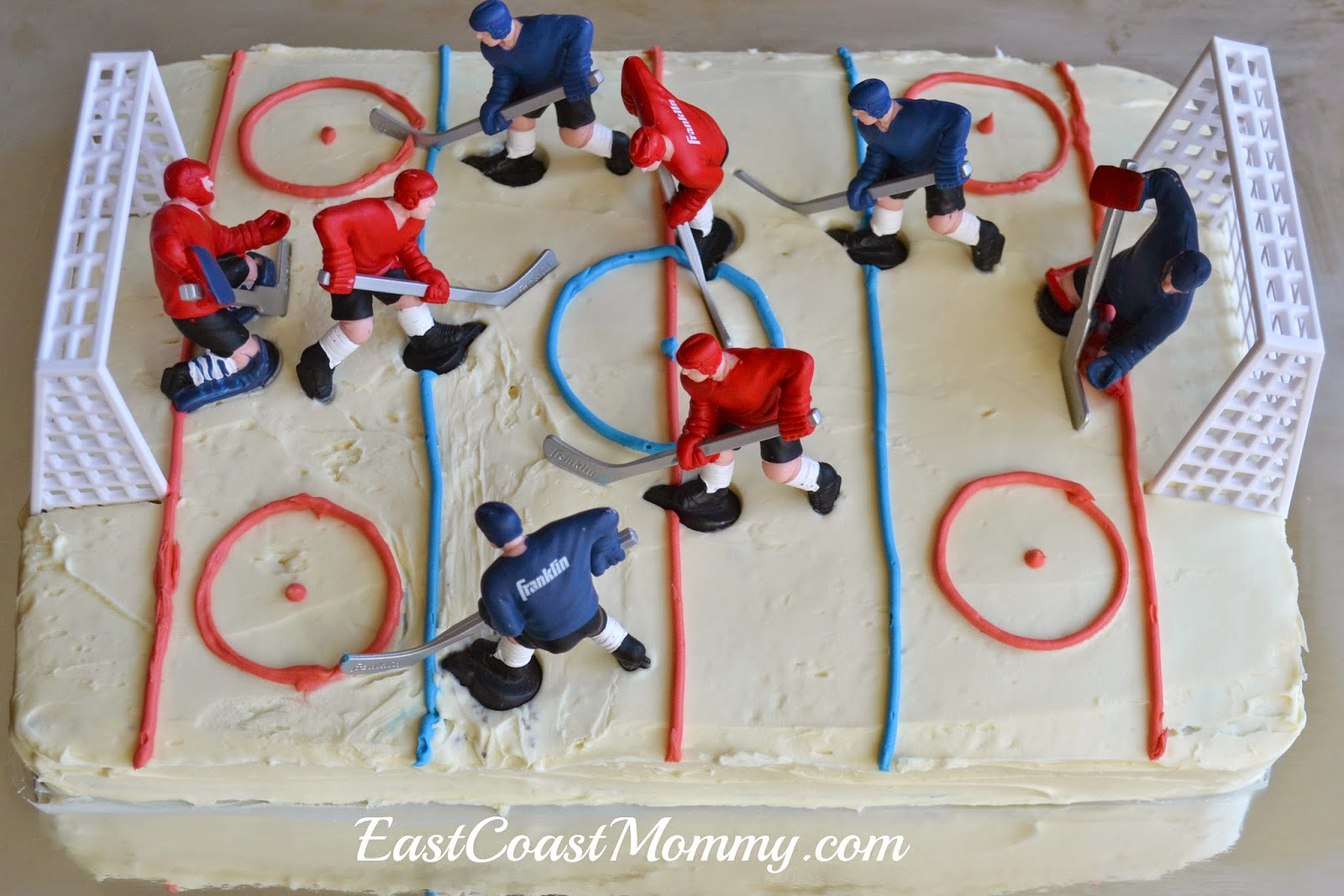 Hockey Stick Cake Toppers