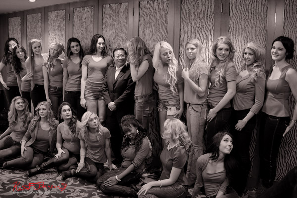 Miss Earth Australia contestants. Photography by Kent Johnson.