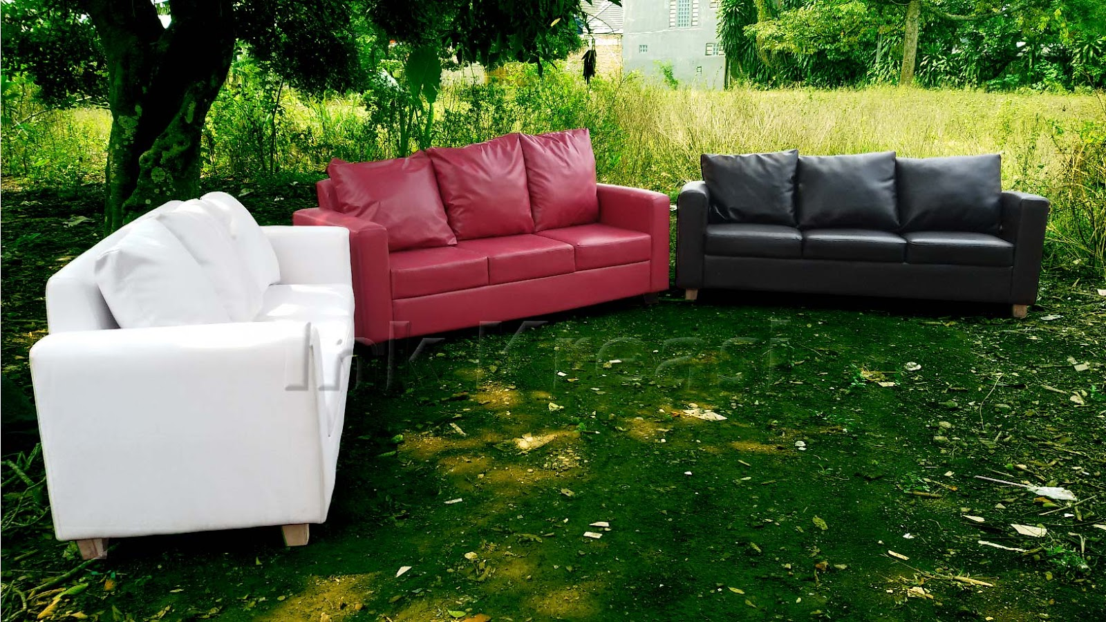 Sewa sofa minimalis vip murah di jakarta sofa triple for Couch jakarta