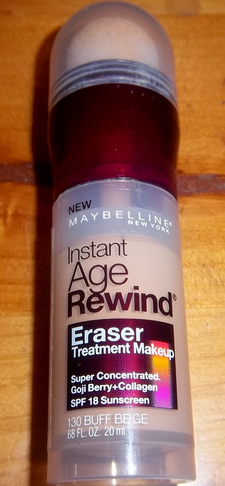 REVIEW - Maybelline Instant Age Rewind Eraser Treatment Makeup ...