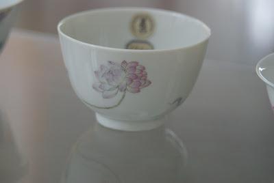 bol en porcelaine impériale