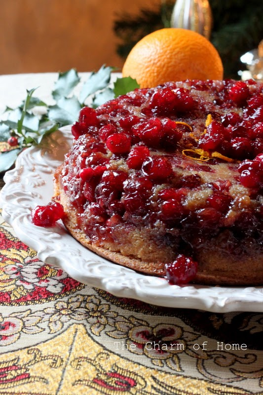 Cranberry Upside Down Cake: The Charm of Home