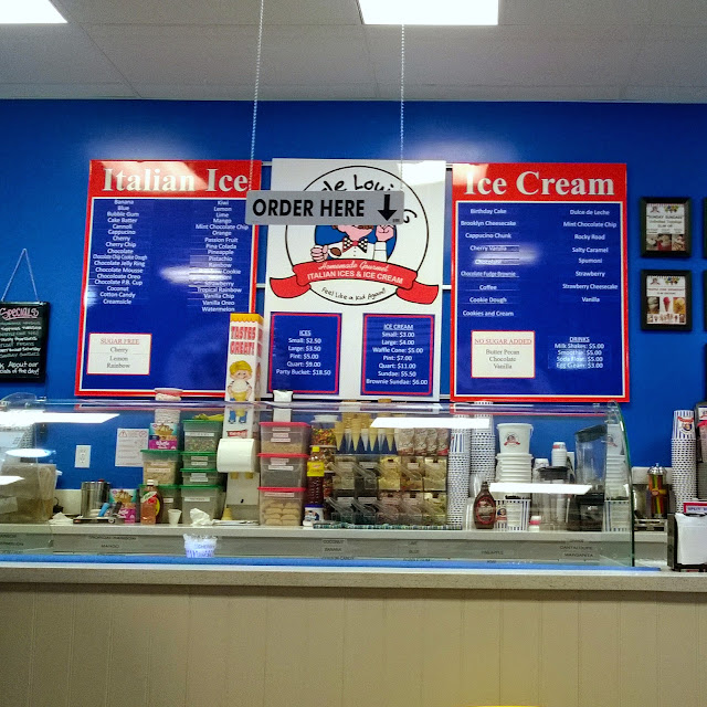 Uncle Louie G italian ice and ice cream