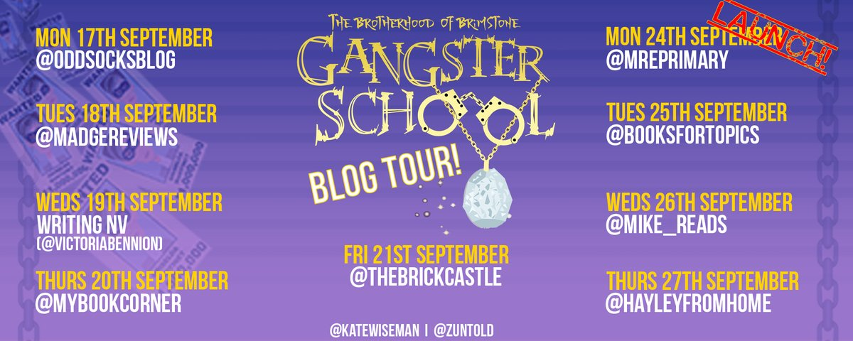 Gangster School 2 Blog Tour