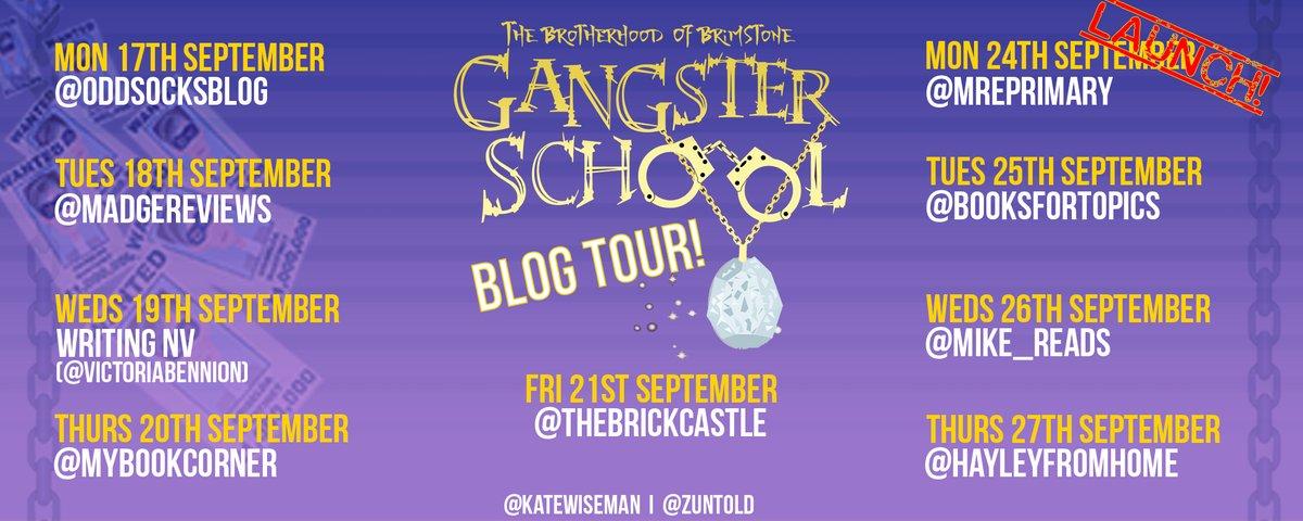 Gangster School 2 Blog Tour