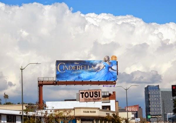 Cinderella special extension movie billboard