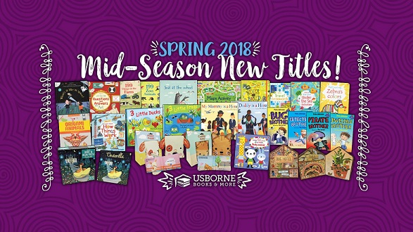 Check Out All The New Spring Titles From Usborne!!