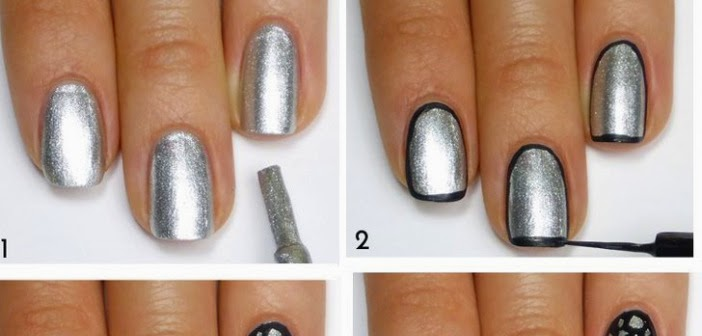 Stone Pattern Nail Art Tutorial Entertainment News Photos