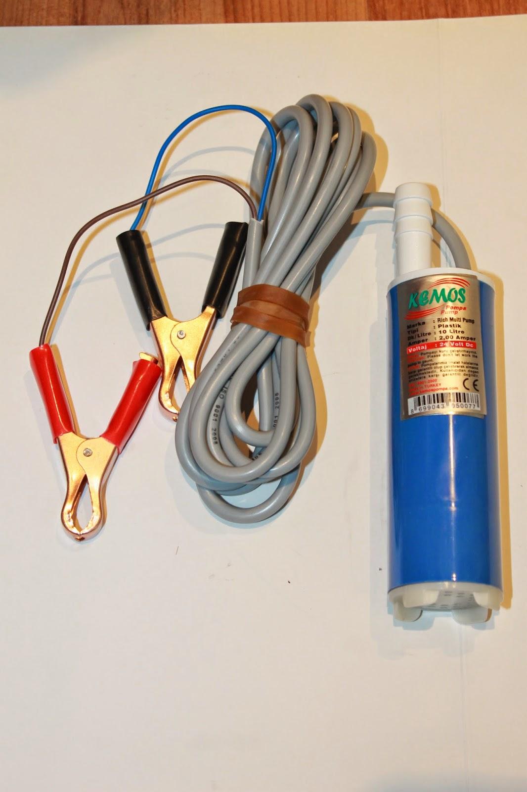 Водяные насос на 12 вольт схемы