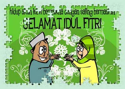 Gambar Ucapan Selamat Lebaran 2012 - Idul Fitri 1433 H Download