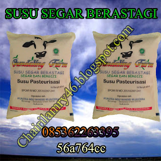 Susu Sapi Segar Pasteurisasi