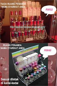 Plastic Stand Bottle Perfume Dari RM32