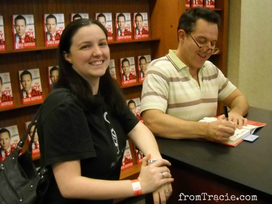A Happy Greg Gutfeld and Tracie