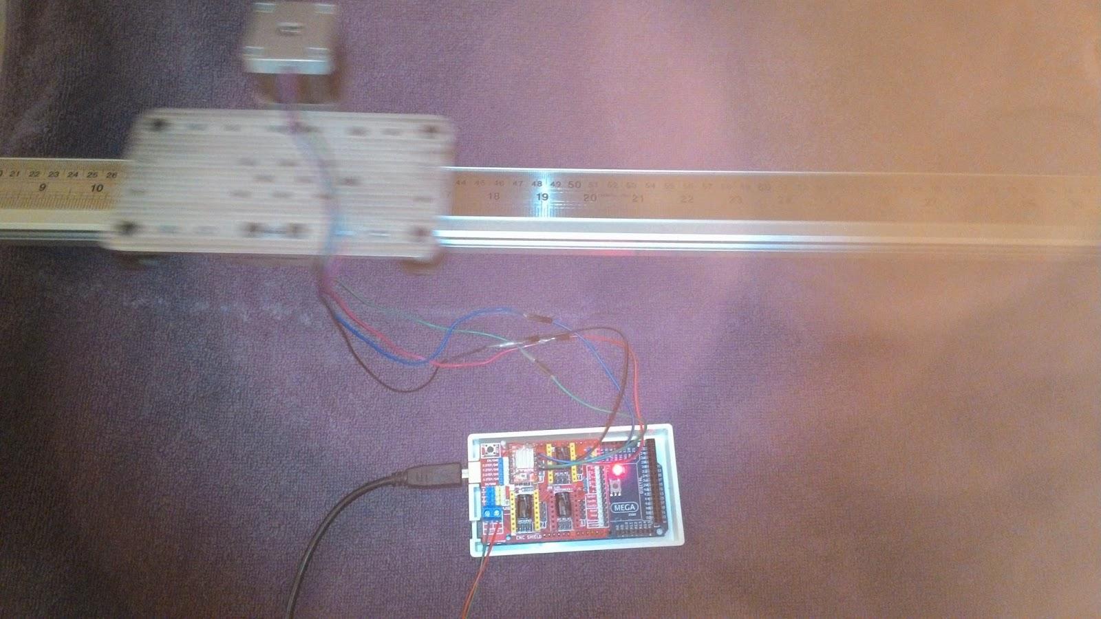 Cheaphousetek camera slider dolly makerslide for Stepper motor camera slider