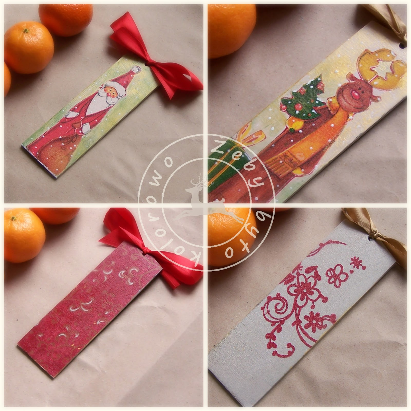 christamas bookmark
