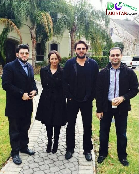 Shahid Afridi USA Tour 2014