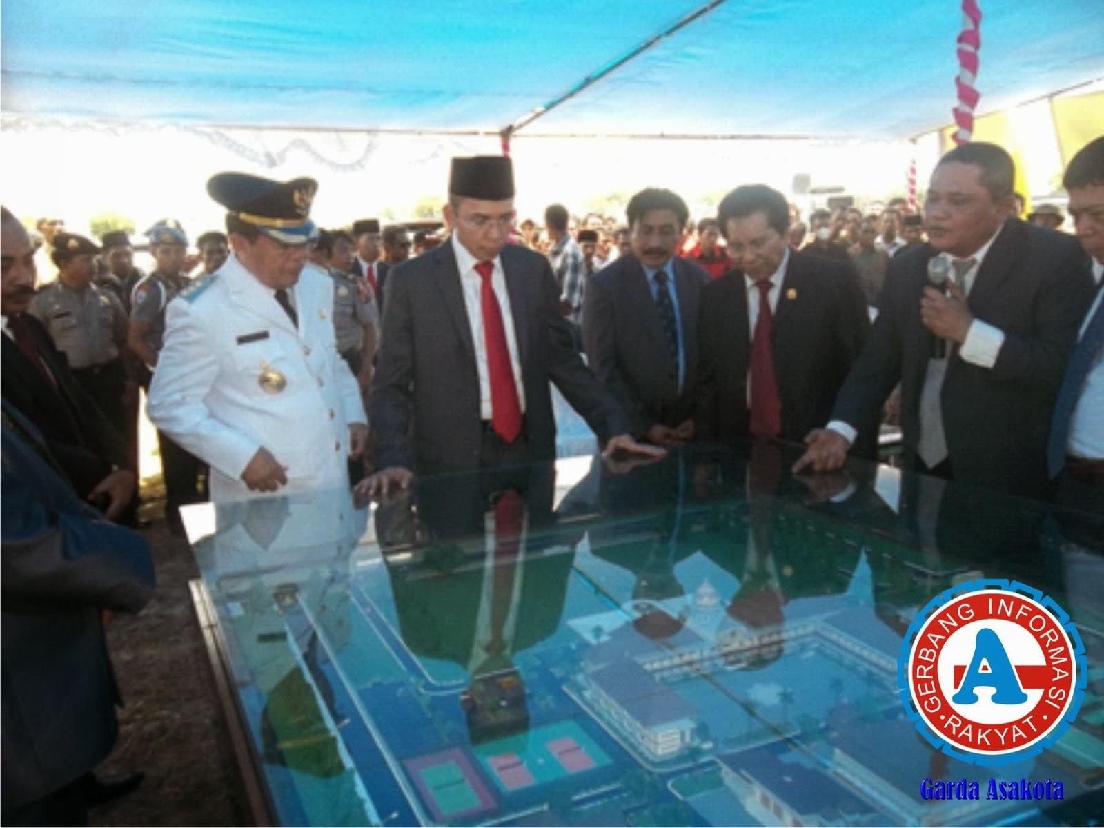 Fisik Kantor Pemerintahan Kabupaten  Bima Segera Dibangun
