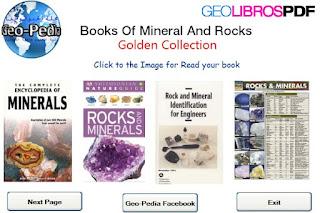 8 libros de minerales en ingles | golden collection