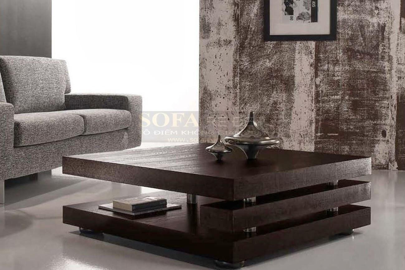 Bàn sofa gỗ BS063