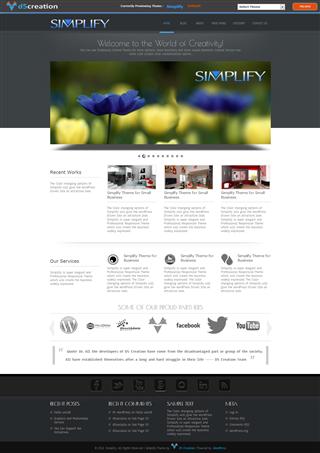 Free Wp Theme Responsive Simplify